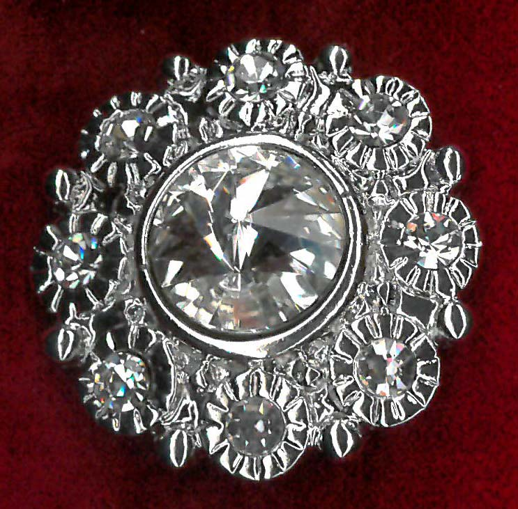 MAGENTIC BROOCH - NICKEL
