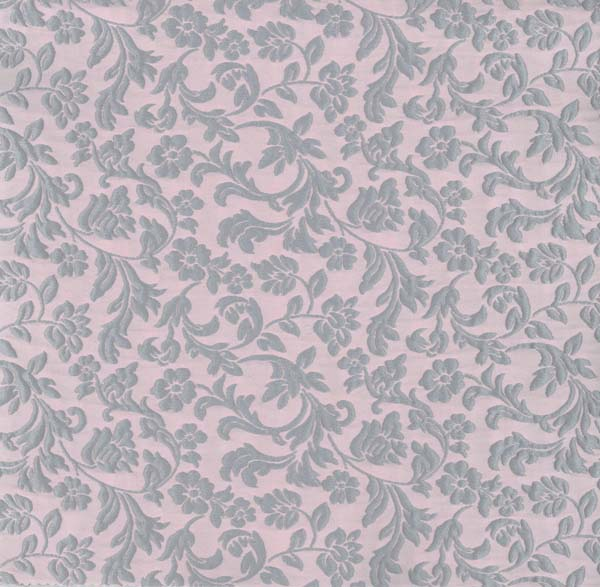 RAISED JACQUARD - PINK/DUCK EGG