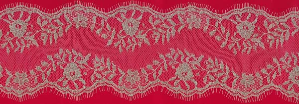 FRENCH LACE EDGING - IV/GOLD