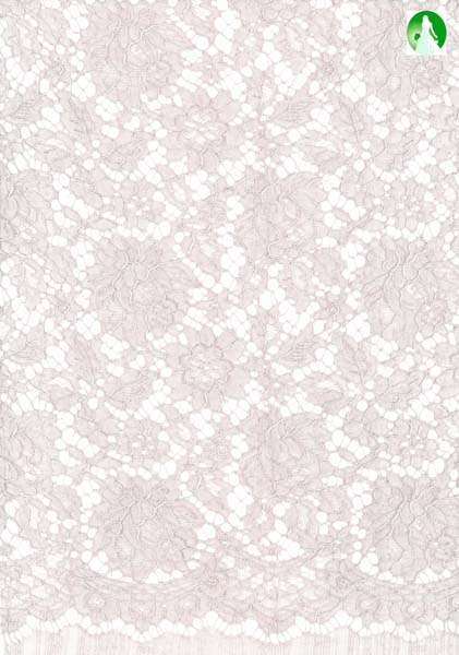 ECO CORDED FRENCH LACE - DUSKY ROSE