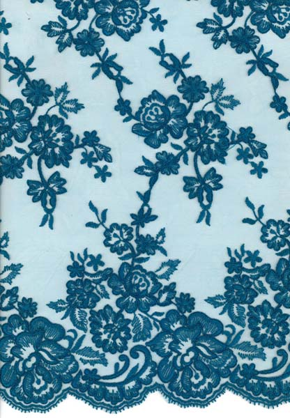 CORDED LACE - TEAL