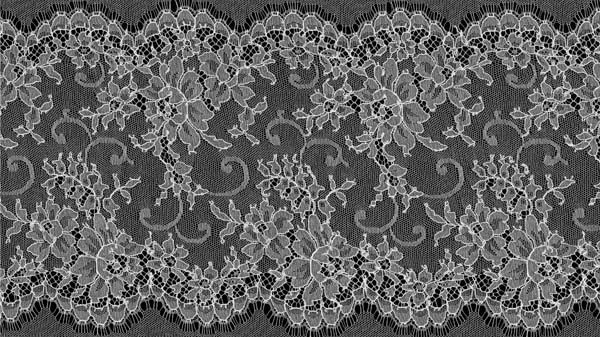 FRENCH CHANTILLY EDGING - IVORY