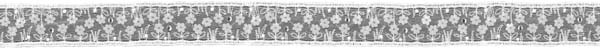 CRYSTAL EDGING - IVORY