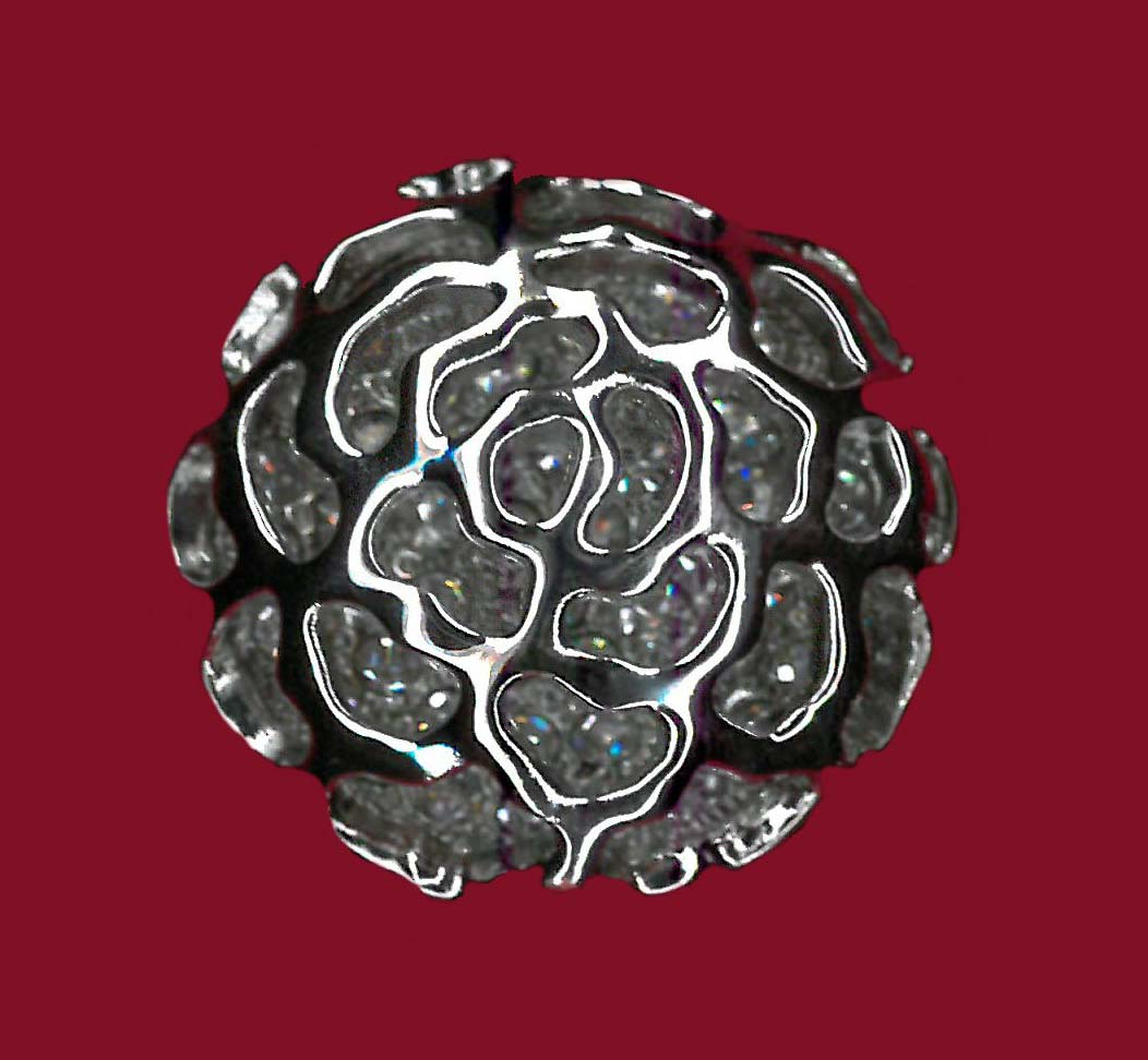 BUTTON - NICKEL