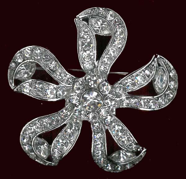 A1007 BROOCH NICKEL