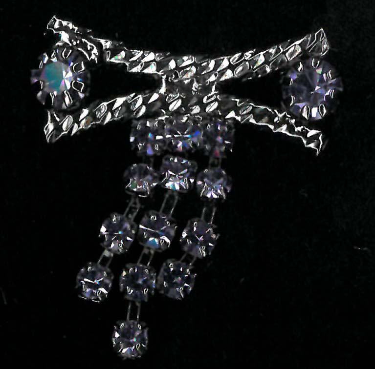 ACCESSORY - GUNMETAL/TANZANITE